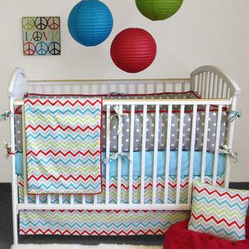 Bebe Chic-Calypso 4 Piece Crib Bedding Set