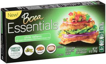 Boca Essentials Chile Relleno Veggie, Grain & Soy Protein Burgers 4 ct Box