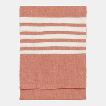 Nine Space Bali Kitchen Towel, 30 x 20, Red, 1 ea