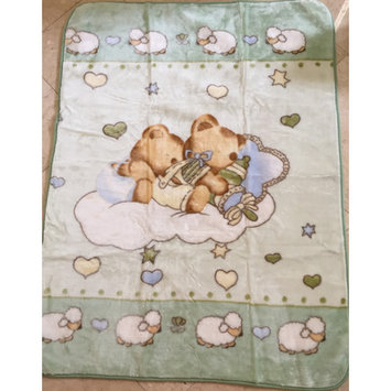Home Sensation Baby Blanket Super-Soft and Cozy Color: GREEN
