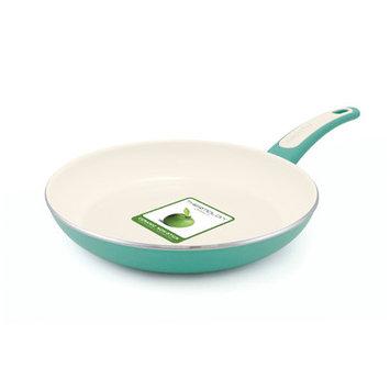 Greenpan Focus Non-Stick Frying Pan Color: Black, Size: 8
