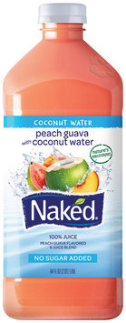 Naked® Peach Guava Coconut Water