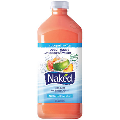 Naked® Peach Guava Coconut Water 64 fl. oz. Bottle