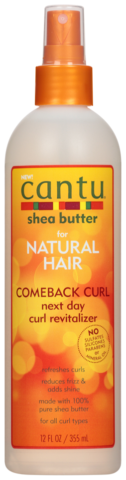 Cantu® Shea Butter Comeback Curl Next Day Curl Revitalizer, 12 fl. oz.