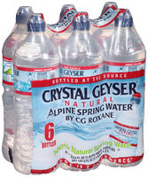 Crystal Geyser® Natural Alpine Spring Water®