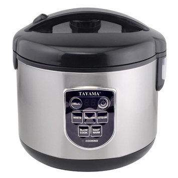 Tayama 10-Cup Digital Rice Cooker/Food Steamer