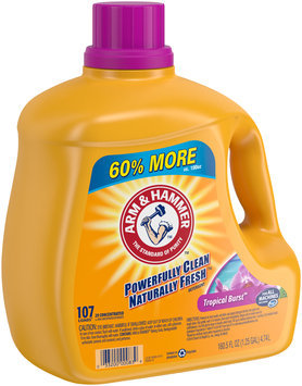 Arm & Hammer™ Tropical Burst™ Laundry Detergent 160.5 fl. oz. Plastic Jug