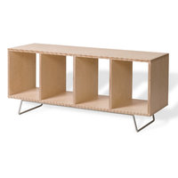 Offi Bench Box With Legs No Upholstery VBB2044LFIN