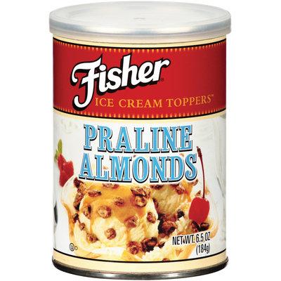Fisher Praline Almonds 6.5 Oz Can