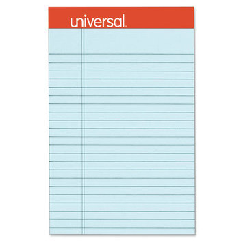 Universal Fashion-Colored Perforated Note Pad Color: Pink, Size: 11