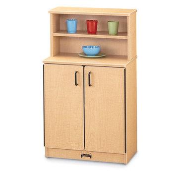 Jonti-Craft 0207JCWW119 Kitchen Cupboard - Green