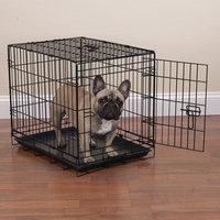 Crate Appeal Black Dog Crate LG
