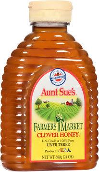 Aunt Sue's® Famers Market Clover Honey 24 oz. Squeeze Bottle