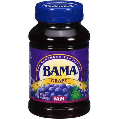 Bama® Grape Jam 30 oz. Plastic Jar