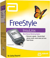 FreeStyle InsuLinx Blood Glucose Monitoring System Kit Retail