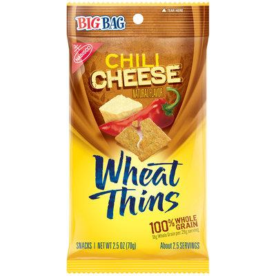 Nabisco Wheat Thins Chili Cheese Snacks 2.5 oz. Bag