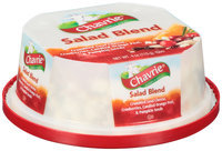 Chavrie® Salad Blend Crumbled Goat Cheese with Cranberries, Candied Orange Peel, & Pumpkin Seeds 4 oz. Tub