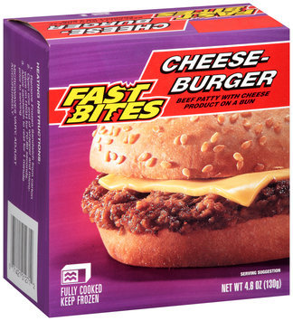 Fast Bites Cheeseburger 4.6 oz. Box