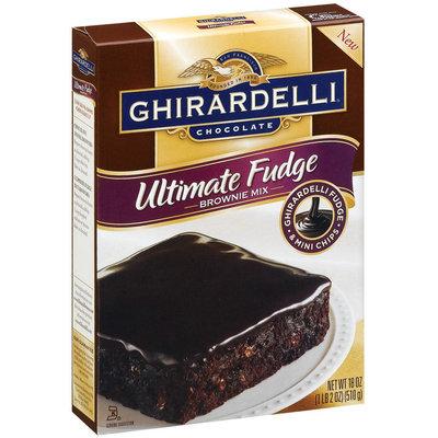 Ghirardelli Chocolate Ultimate Fudge Brownie Mix