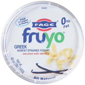 Fage® Fruyo® Greek Nonfat Strained Yogurt Blended with Vanilla 48 oz. Tub