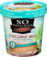 So Delicious® Coconut Milk Butter Pecan Non-Dairy Frozen Dessert 1 pt. Tub