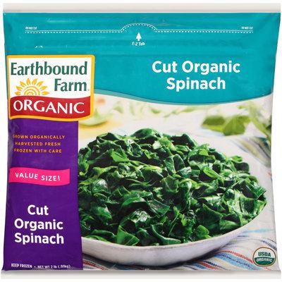 Earthbound Farm® Cut Organic Spinach 2 lb. Package