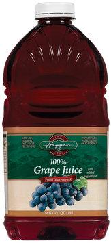 Haggen 100% from Concentrate Grape Juice 64 Oz Plastic Bottle