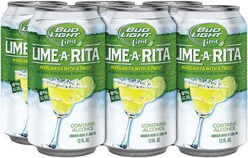 BUD LIGHT LIME 6% & 8% Alcohol 12 oz Single & Lime-A-Rita 6 PK CANS