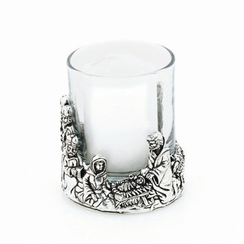 Bobsiemondesigns Nativity Votive Candle