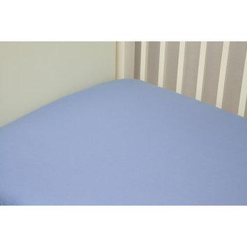 Riegel Cotton Solid Crib Sheet Color: Blue