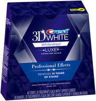 Whitestrips Profesnl Whtng Sys Crest 3D White Luxe Whitestrips Professional Effects - Teeth Whitening Kit 20 Treatments