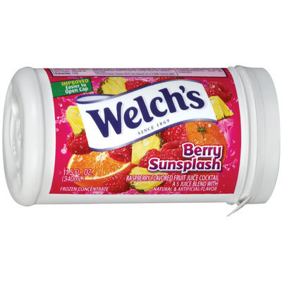 Welch's® Frozen Berry Sunsplash Juice Concentrate