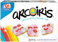 Gamesa Marshmallow Cookies 6 Packs Arcoiris 15.52 Oz Package