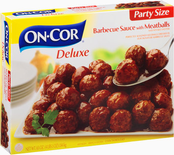On-Cor® Deluxe Barbecue Sauce with Meatballs Party Size