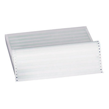 Sparco Products Green Bar Paper,