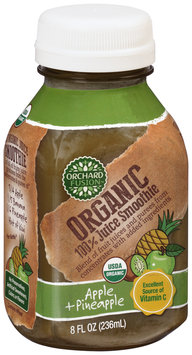 Orchard Fusion™ Organic Apple + Pineapple 100% Juice Smoothie 8 fl. oz. Bottle