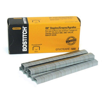 Stanley Bostitch Staples Premium B8, Chsl Pnt, Use In B8C Line