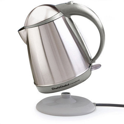 Chef's Choice Cordless Electric 1 -qt. Kettle - Gray
