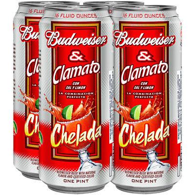 Budweiser Clamato & Chelada Beer