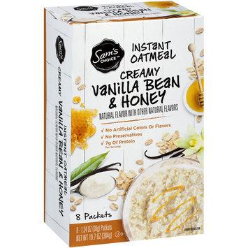 Sam's Choice™ Creamy Vanilla Bean & Honey Instant Oatmeal 8-1.34 oz. Packets