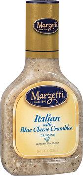 Marzetti®™ Italian with Blue Cheese Crumbles Dressing 16 fl. oz. Plastic Bottle