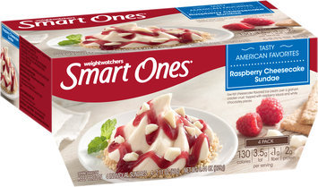 Weight Watchers Smart Ones® Tasty American Favorites Raspberry Cheesecake Sundae 4-2.11 oz. Packs