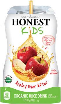 Honest Kids® Appley Ever After Organic Juice Drink 6.75 fl. oz. Pouch