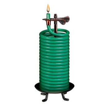 Eclipse Home Decor Llc Eclipse Home Decor, LLC 80 Hour Green Coil Candle 20559BG