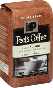 Peet's Coffee® Cafe Solano Whole Bean Medium Roast Coffee 12 oz. Bag
