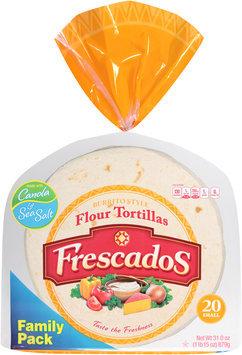 Frescados™ Burrito Style Flour Tortillas 20 oz. Bag
