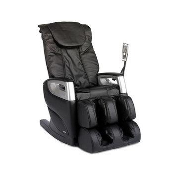 Cozzia Black Reclining Shiatsu Function Massage Chair