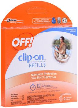 OFF!® Clip-On™ Refills Mosquito Repellent 2 ct Box