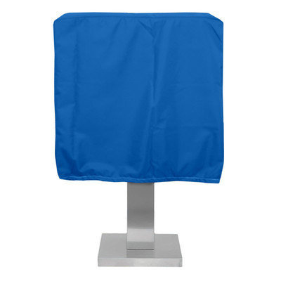 KoverRoos O3051 Weathermax Pedestal Barbecue Cover Pacific Blue - 19.5 D x 28 W x 19 H in.