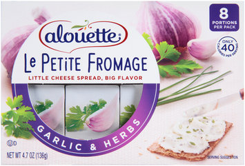 Alouette® Le Petite Fromage Garlic & Herbs Cheese Spread 4.7 oz. Sleeve